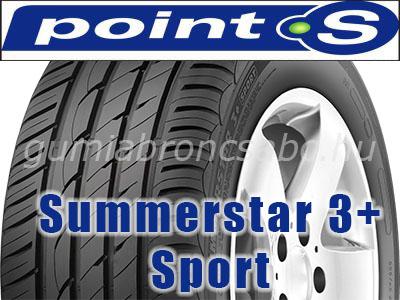 POINT-S SUMMERSTAR 3+ SPORT - nyárigumi