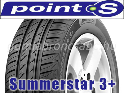POINT-S SUMMERSTAR 3+ 185/55R14 80H
